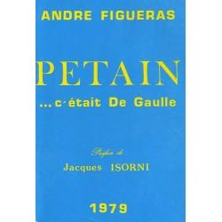 Pétain… c'était De Gaulle